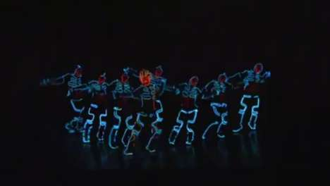 Light-Up Dubstep Dances