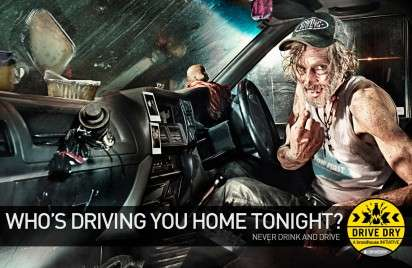 Shady Hitchhiker Ads