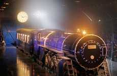 Lavish Locomotive Luxury - The $8 Million Louis Vuitton Train Exudes Retro Decadence