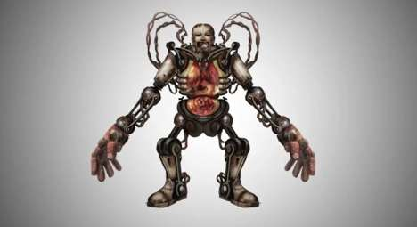 Concept Art for Bioshock's Handyman is Tragic and Menacing