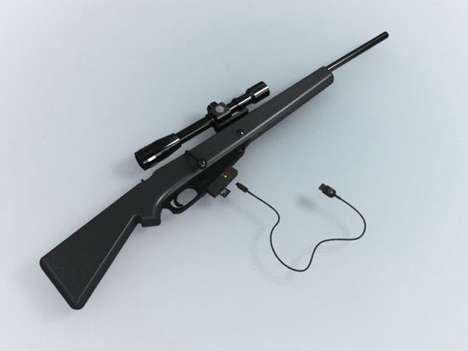 Rifle-Shaped Cameras