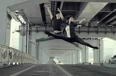 Dancing Denim Adverts - The Korean Levi's Ballet Video Shows Anything is Possible in Jeans