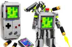 Game Boy Robots - The Game Boy LEGO Transformer is Any Geek's Triple Threat Combo