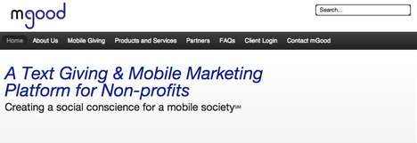 Mobile-Enhanced Giving