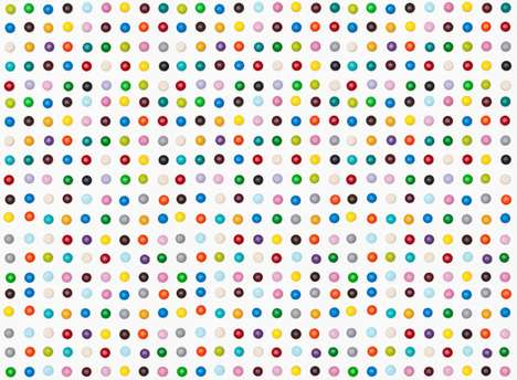 Henry Hargraves Recreats Damien Hirst's 'Spot' Paintings