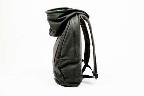 Hooded Designer Knapsacks