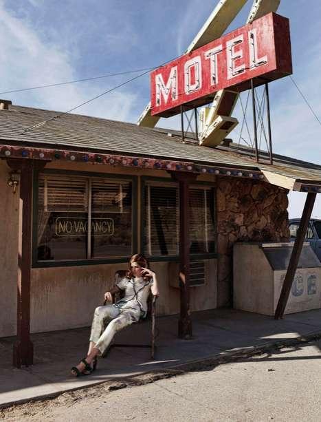 Desert Motel Editorials
