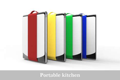 Compact Cartable Cookers