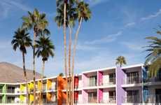 Candy-Colored Hotels - The Saguaro Hotel in Palm Springs Lets You Experience the Rainbow