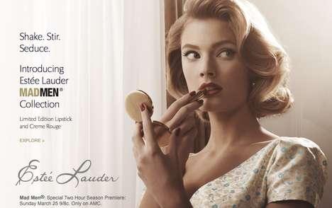 Retro Ad-Inspired Cosmetics