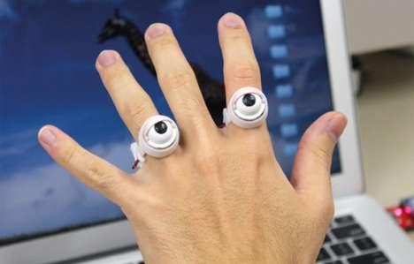 Blinking Eyeball Jewelry