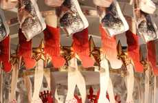 Shoe-Obsessed Retail Displays - The Selfridges Christian Louboutin Store Window is Whimsical