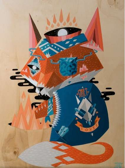 Polygonal Critter Caricatures