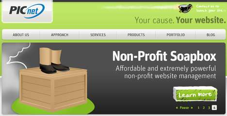 Good Karma Web Dev - PICnet Offers Tech Services for Non-Profits and Social Businesses