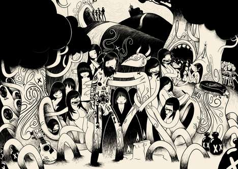 Hectic Music Illustrations