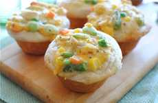 Tiny Savory Treats - These Chicken Pot Pie Cupcakes Will Keep You Snacking Sensibly