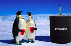 Insulated Keg Coolers - The Neoprene KegSkin Keeps Beer Ice-Cold and