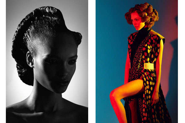 Sculptural Afro Shoots