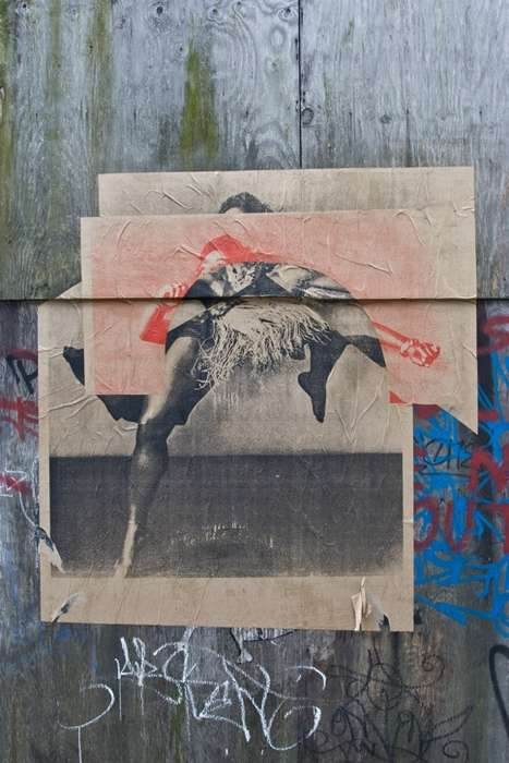 Xeroxed Graffiti Art