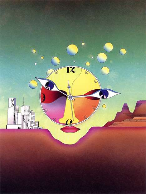 Retro Futuristic Illustrations