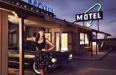 Retro Roadside Motel Editorials