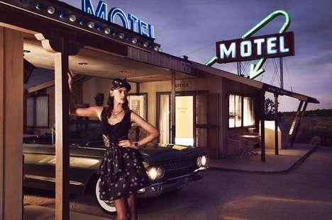 Retro Roadside Motel Editorials