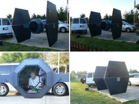 Sci-Fi Spacecraft Playhouses
