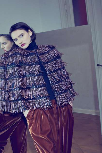 Fiercely Fringed Collections