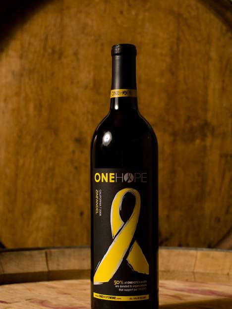 Pinot Noir with Purpose - 'ONEHOPE Wines' Donate Half Their Profits to Charity