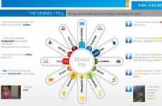 Personalized Popularity Infographics - The Intel 'What About Me?' App is a Snapshot of Digital Life