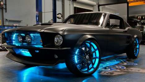 The West Coast Customs/ Microsoft 'Microstang' is a Sweet Ride