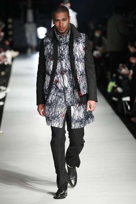 Edgy Alpine Outerwear