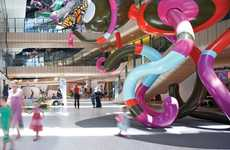 Whimsical Medical Spaces - The Royal Children's Hospital Melbourne is Imaginative and Fun