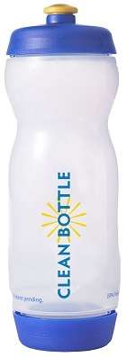 Bacteria-Free Containers  - The Clean Bottle Eliminates Germs