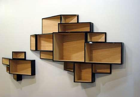 Elegantly Urban Shelves