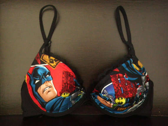 Comic Book Bras
