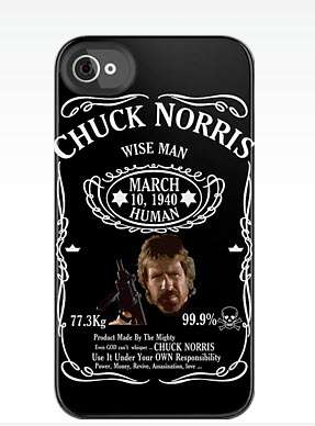 Iconic Figure Mobile Protectors  - The Chuck Norris Smartphone Cases are Hilarious