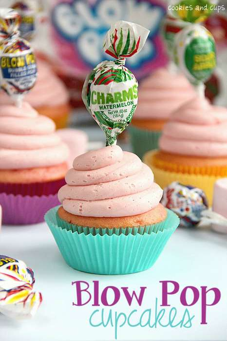 Blushing Bubblegum Cakes