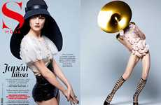 Asian Comic-Inspired Editorials