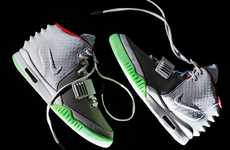 Rad Rap Icon Sneakers - The Nike Air 'Yeezy 2' Running Shoe is Endorsed by Kanye West
