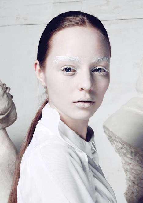 Starkly Pale Portraits