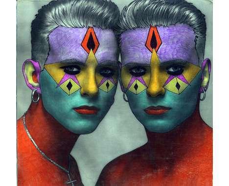 50 Fierce Face Paint Features