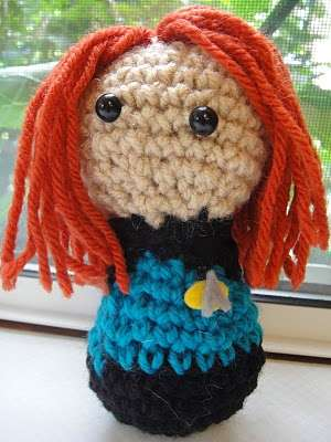Knitted Sci-Fi Dolls