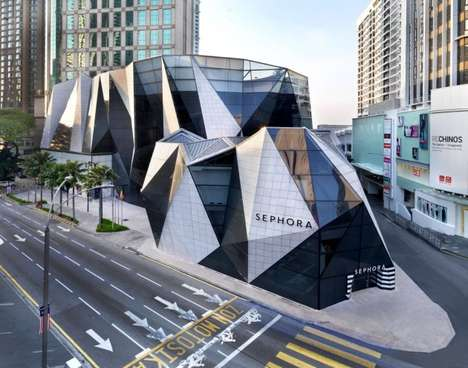 Crystalline Shopping Centers - The Starhill Gallery by Sparch is Luxuriously Faceted