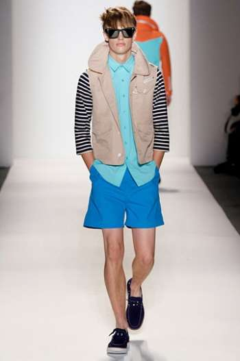 Nautical Color-Blocked Menswear