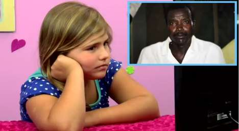 Viral Media Response Videos - The Kids React to Kony 2012 Youtube Segment is Enlightening