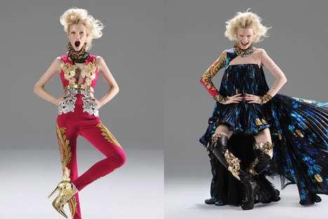 Energetically Flamboyant Fashion