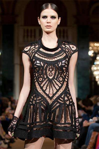 Haunting Lace-Infused Runways