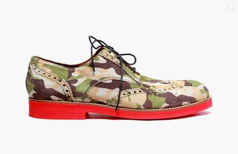 The GG x Del Toro Camouflage Brogue is for the Urban Gentleman