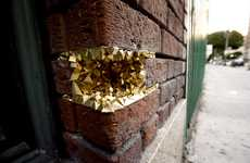 Geological Street Art - Geode by Paige Smith Brings 'Natural' Wonders to Urban Settings